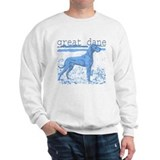 Great Dane Faded Blue Jumper