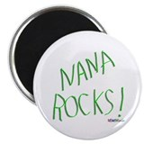 "Nana Rocks ! 2.25"" Magnet (100 pack)"