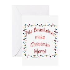 Fila Merry Greeting Card