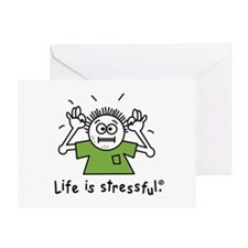 Unique Stress Greeting Card