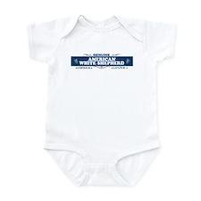 AMERICAN WHITE SHEPHERD Infant Bodysuit