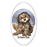 Starlo's Sugar 'n' Spice Cockapoo Hugs Sticker (Ov
