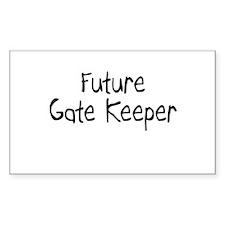 Future Gate Keeper Rectangle Decal
