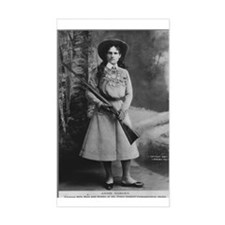 Annie Oakley Rectangle Stickers