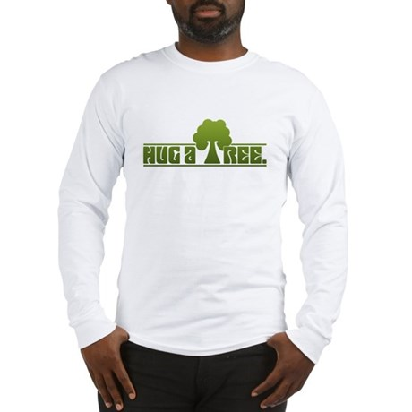 Hug a Tree Long Sleeve T-Shirt