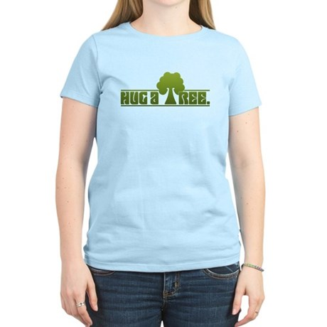 Hug a Tree Women's Light T-Shirt