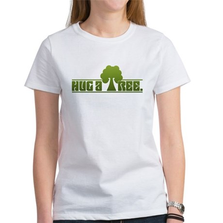 Hug a Tree Women's T-Shirt