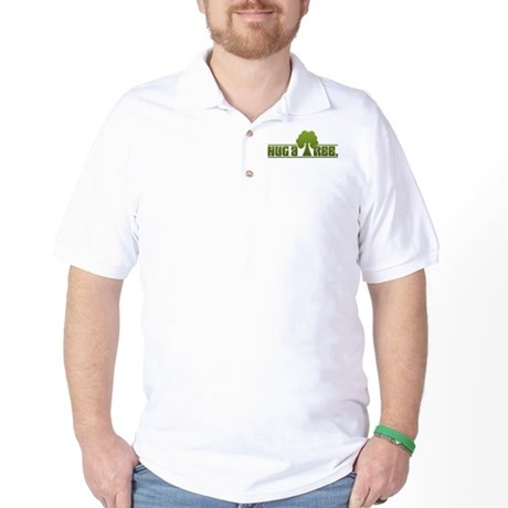 Hug a Tree Golf Shirt