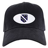 Bosnia Herzegovina Country Fl Baseball Hat