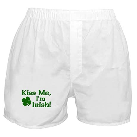 Kiss Me I'm Irish Boxer Shorts