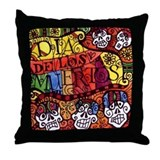 Dia de los Mertos Throw Pillow