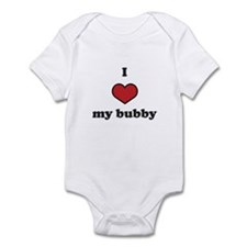 I love my bubby Infant Bodysuit