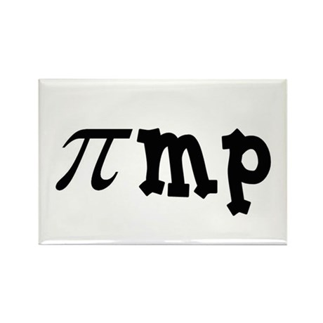 Math Pimp Rectangle Magnet (10 pack)