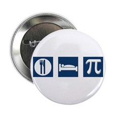 "Eat Sleep Pi 2.25"" Button (10 pack)"