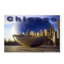 Cloud Gate Sculpture (Package of 8)