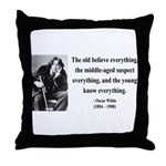 Oscar Wilde 3 Throw Pillow