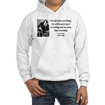 Oscar Wilde 3 Hooded Sweatshirt