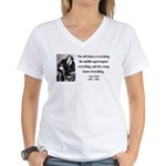 Oscar Wilde 3 Women's V-Neck T-Shirt