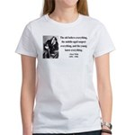 Oscar Wilde 3 Women's T-Shirt