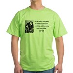 Oscar Wilde 3 Green T-Shirt