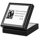 Oscar Wilde 4 Keepsake Box