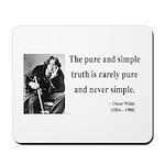 Oscar Wilde 4 Mousepad