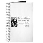 Oscar Wilde 4 Journal