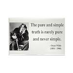 Oscar Wilde 4 Rectangle Magnet (100 pack)