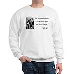 Oscar Wilde 4 Sweatshirt