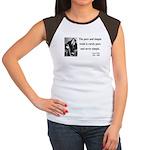 Oscar Wilde 4 Women's Cap Sleeve T-Shirt