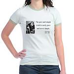 Oscar Wilde 4 Jr. Ringer T-Shirt