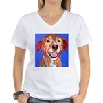 Ridgeback Women's V-Neck T-Shirt