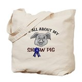 Show Pig Tote Bag