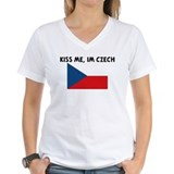 KISS ME IM CZECH Shirt