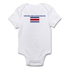 EVERYONE LOVES A COSTA RICAN  Infant Bodysuit