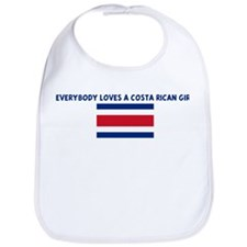 EVERYBODY LOVES A COSTA RICAN Bib