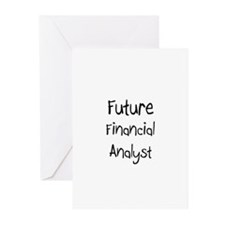 Future Financial Analyst Greeting Cards (Pk of 10)