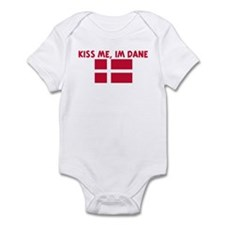 KISS ME IM DANE Infant Bodysuit