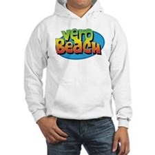 Vero Beach Florida Cartoon Souvenir Hoodie
