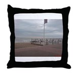 Cold Coast Throw Pillow