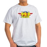 99.9 The Hawk Ash Grey T-Shirt