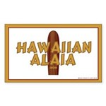 Hawaiian Alaia Rectangle Sticker