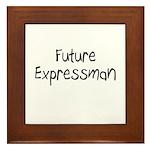 Future Expressman Framed Tile