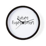 Future Expressman Wall Clock