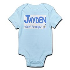 "Jayden ""Golf Prodigy"" Infant Bodysuit"