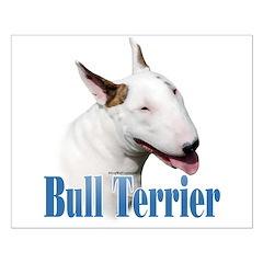 Bull Terrier Name Posters