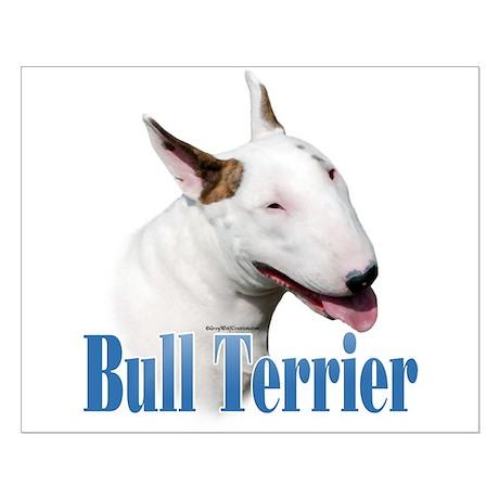 Bull Terrier Name Small Poster