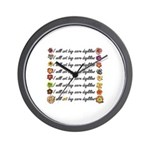 Buy more daylilies Wall Clock