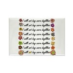 Buy more daylilies Rectangle Magnet