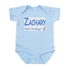 "Zachary ""Golf Prodigy"" Infant Bodysuit"